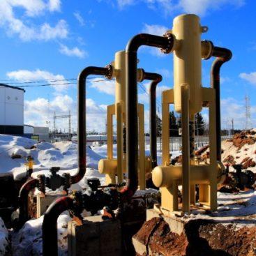 Gaasitorustike, Kaugküttetorustike, Vee- ja kanalisatsioonitorustiku ehitus